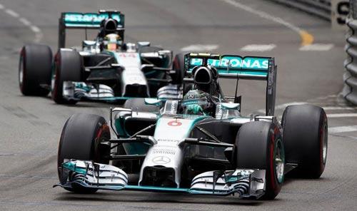"F1: Hamilton ""tính nợ"" với Rosberg ở Monaco - 2"