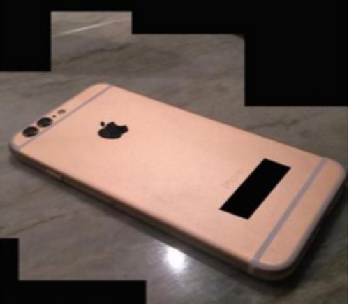 Lộ ảnh iPhone 6S màu vàng hồng, camera kép - 1