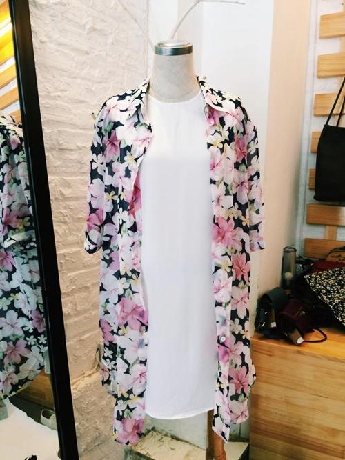 Mách bạn gái chọn mua áo khoác kimono đẹp và rẻ - 12