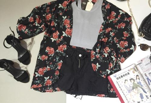 Mách bạn gái chọn mua áo khoác kimono đẹp và rẻ - 11