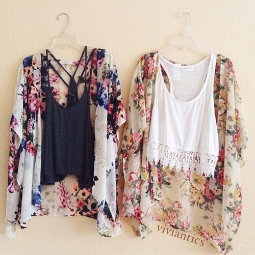 Mách bạn gái chọn mua áo khoác kimono đẹp và rẻ - 10