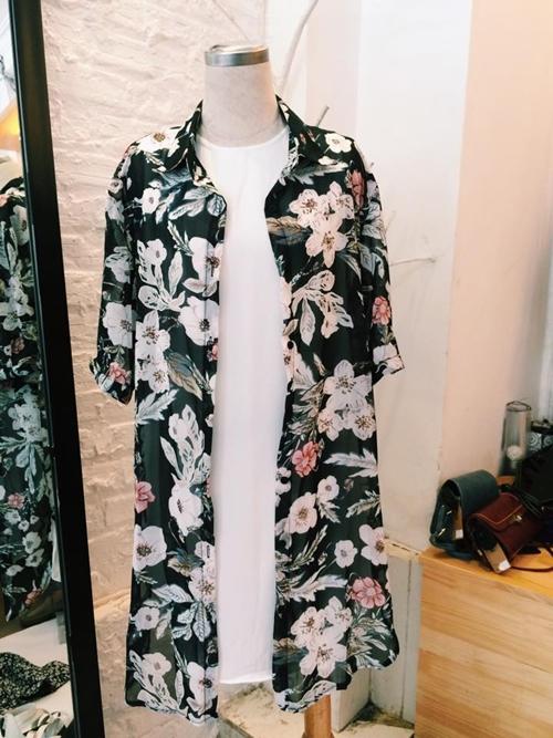 Mách bạn gái chọn mua áo khoác kimono đẹp và rẻ - 13