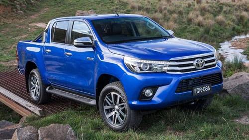 Toyota Hilux 2016 trình làng: Cơ bắp nhưng vẫn hiện đại - 1