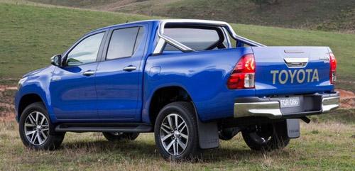 Toyota Hilux 2016 trình làng: Cơ bắp nhưng vẫn hiện đại - 5