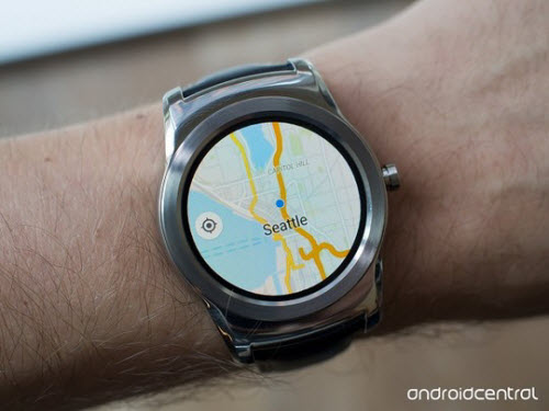 Google Maps xuất hiện trên Android Wear - 1