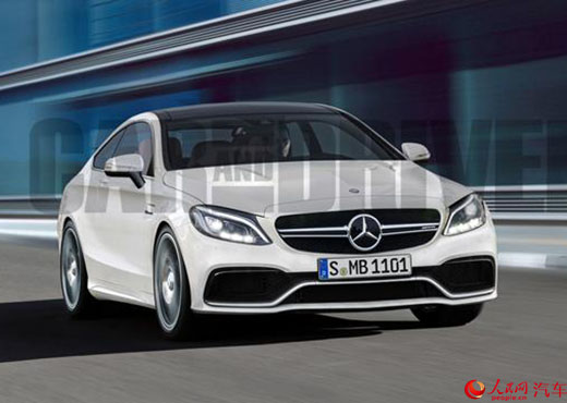 Lộ xe thể thao Mercedes-Benz AMG C63 Coupe thế hệ mới - 1