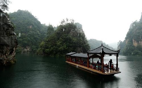 Cầu bằng kính dài và cao nhất thế giới ở Trung Quốc - 5