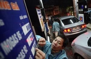 Giá xăng đột ngột tăng từ 20h tối 20.5