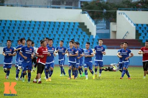 Công Phượng, Văn Toàn quyết ghi bàn vào lưới U23 Myanmar - 1