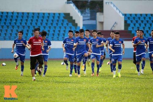 Công Phượng, Văn Toàn quyết ghi bàn vào lưới U23 Myanmar - 2