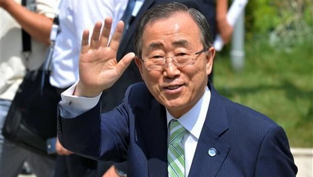 Ngày bận rộn của Tổng thư ký LHQ Ban Ki-moon tại Hà Nội - 1