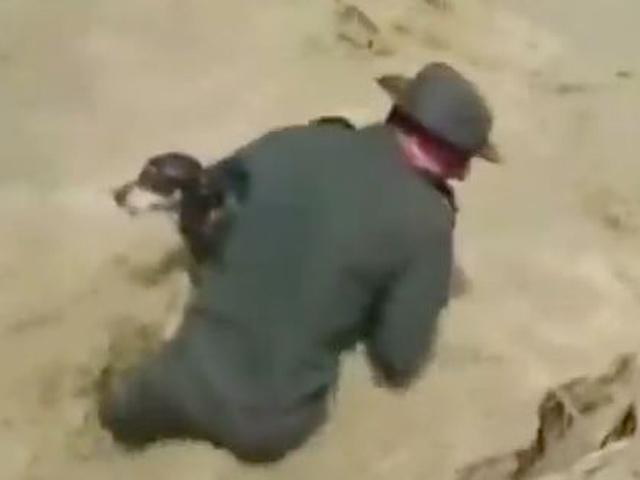 Video: Cảnh sát Colombia hô hấp nhân tạo cho chó - 1