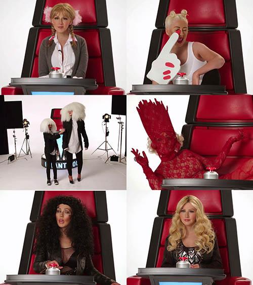 "Christina Aguilera tung video ""nhái"" Britney Spears - 2"