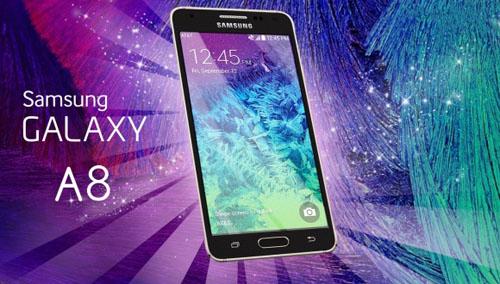 Samsung Galaxy A8 màn hình 5,5 inch, vỏ kim loại - 1