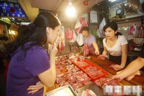 Hot girl bán thịt lợn gây sốt vì vẻ đẹp quyến rũ - 5