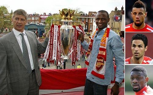Arsenal: 10 năm thất bại, 1 nỗi nhớ Vieira - 1