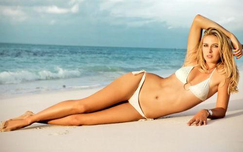 Kiều nữ Sharapova tiết lộ ước muốn thầm kín của mình - 1