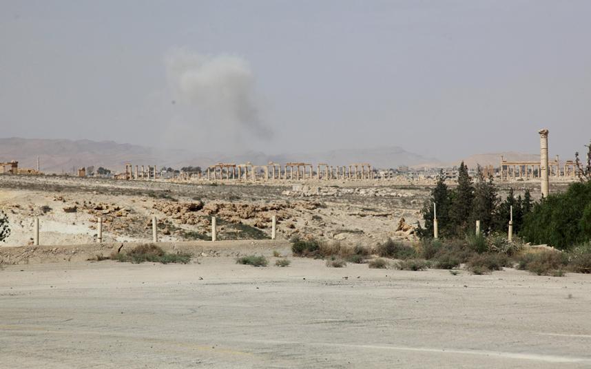 """""""Venice trên sa mạc"""" tan hoang dưới gót chân chiến binh IS - 3"""