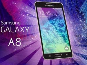 Samsung Galaxy A8 màn hình 5,5 inch, vỏ kim loại