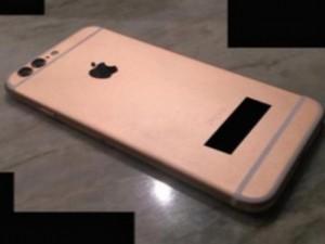 Lộ ảnh iPhone 6S màu vàng hồng, camera kép