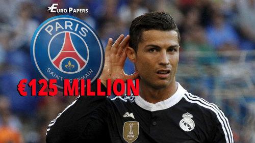 Trả 125 triệu euro, PSG muốn bốc CR7 khỏi Real - 1