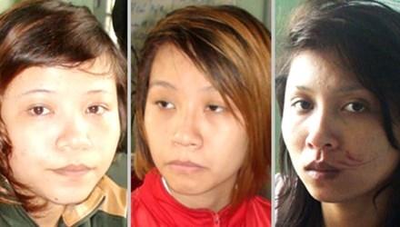 """Va chạm giao thông, 3 thiếu nữ xách dao """"tính sổ"""" đối thủ - 1"""