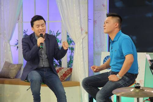 Lam Trường bồi hồi hát tặng cha trên sóng truyền hình - 3