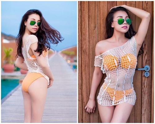 Sắm áo lưới ngoài bikini đẹp như Hà Anh chỉ 150 ngàn - 3