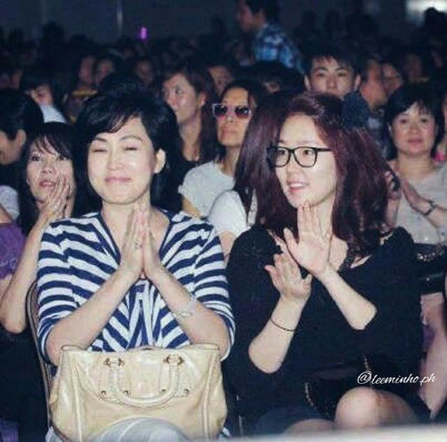 Bất ngờ với nhan sắc của mẹ và chị gái Lee Min Ho - 2
