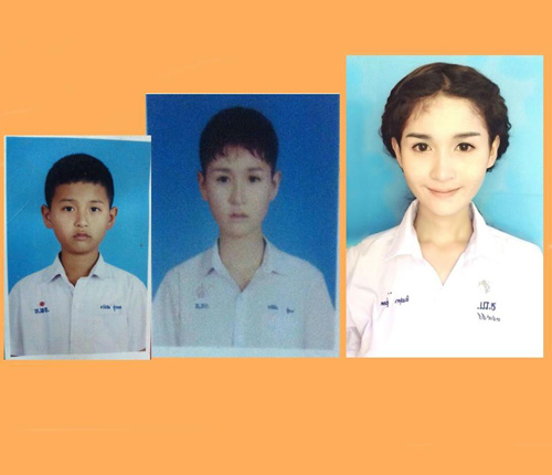 """Thiếu nữ Thái Lan """"xinh như mộng"""" từng là con trai - 3"""
