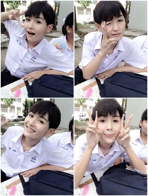 """Thiếu nữ Thái Lan """"xinh như mộng"""" từng là con trai - 5"""