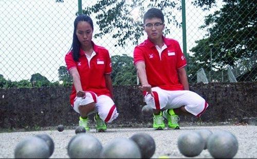Tuyển bi sắt Singapore vực dậy niềm tin huy chương - 1