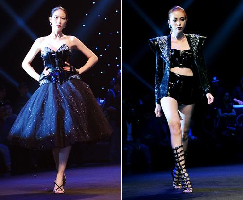 """Đông Nhi mặc váy """"khủng"""" gây ấn tượng trên sàn diễn - 14"""