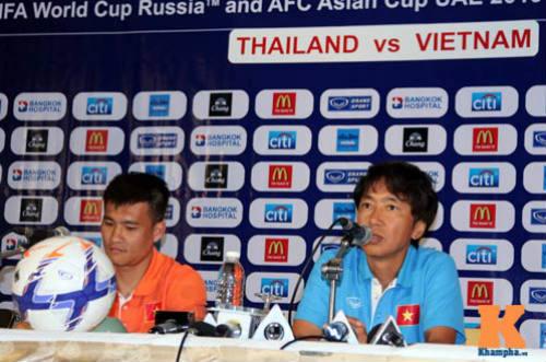HLV Miura: ĐT Việt Nam không đi Thái Lan để du lịch - 1