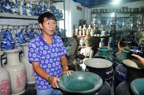 """""""Vua gốm sứ"""" ở Sài Gòn với 100.000 cổ vật - 3"""