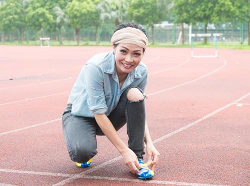 Phương Thanh chơi thể thao như vận động viên - 3