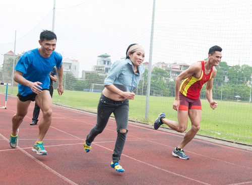 Phương Thanh chơi thể thao như vận động viên - 4