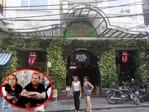 """""""Mất vết"""" hai vị khách tây ngả nón xin tiền ở Hà Nội - 1"""