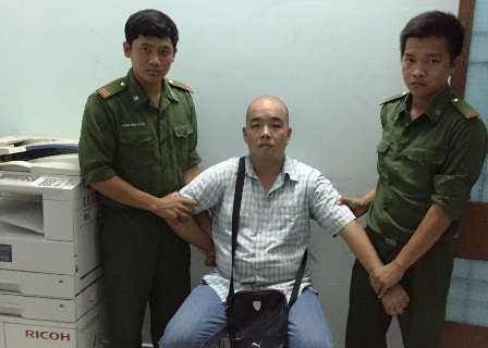 Bắt người nước ngoài gây án đang tẩu thoát khỏi Việt Nam - 1