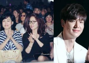 Bất ngờ với nhan sắc của mẹ và chị gái Lee Min Ho