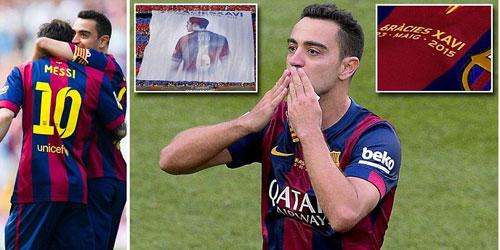 """Barca """"mở hội"""" nhận cúp, tri ân Xavi - 7"""