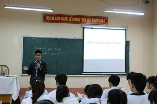 Chàng trai học tiếng Nhật mơ ước làm thầy giáo - 3
