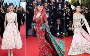 """Báo Trung Quốc chê mỹ nhân Cbiz """"bon chen"""" ở Cannes"""