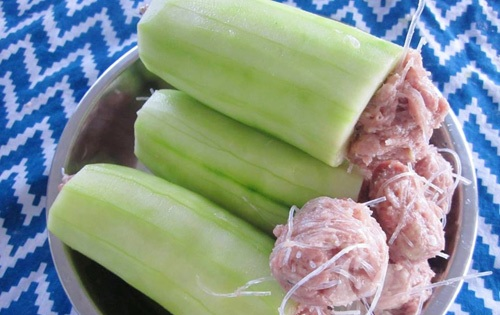 Canh dưa leo nhồi thịt cho ngày hè nóng bức - 3