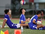 6 cầu thủ U23 Việt Nam phải tập riêng ở Singapore