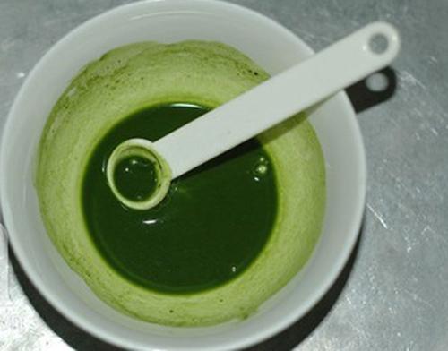 Sữa chua trà xanh ngon mịn, thơm mát - 1