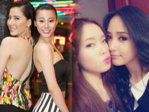 """Chị, em gái xinh """"lung linh"""" của người đẹp Việt"""