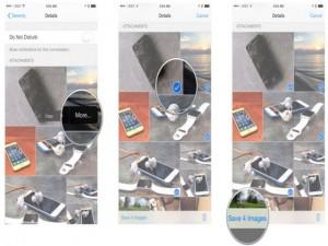 Mẹo: Tải toàn bộ hình ảnh về iPhone, iPad từ ứng dụng iMessage
