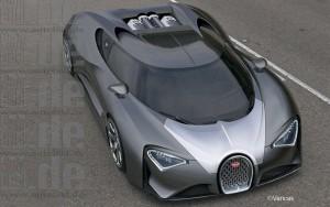 Lộ diện Bugatti Chiron 2017 động cơ khủng, giá chát