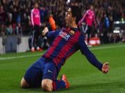 Luis Suarez là tân binh đỉnh nhất mùa 2014/15
